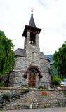 Oude kerk in Vitznau, Luzerne Royalty-vrije Stock Afbeelding