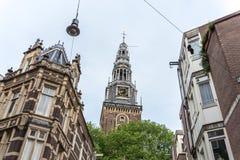 Oude Kerk w Amsterdam, holandie (Stary kościół) Obraz Stock