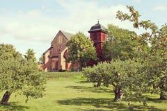Oude kerk, Zweden Royalty-vrije Stock Fotografie