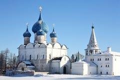 Oude kerken Royalty-vrije Stock Foto