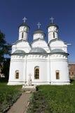 Oude kerken in Suzdal, Rusland Royalty-vrije Stock Afbeelding