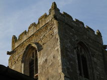 Oude kerktoren Stock Foto