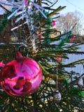 Oude Kerstmisdecoratie Stock Foto