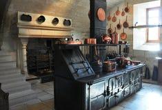 Oude keuken Stock Afbeelding