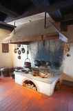 Oude keuken stock foto