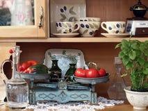 Oude keuken Royalty-vrije Stock Foto's