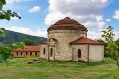 Oude Khan-moskee Sheki stock afbeeldingen