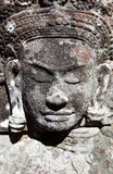 Oude Khmer gravure Royalty-vrije Stock Foto's