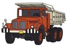 Oude kipwagenvrachtwagen Royalty-vrije Stock Fotografie
