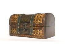 Oude kist voor jewelery stock fotografie