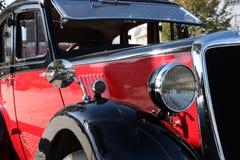 Oude klassieke auto Stock Foto