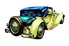 Oude klassieke auto retro wijnoogst Royalty-vrije Stock Fotografie