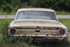 Oude klassieke auto's en vrachtwagens in Dickerson Texas royalty-vrije stock foto's