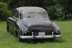 Oude klassieke auto's en vrachtwagens in Dickerson Texas royalty-vrije stock foto