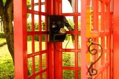 Oude klassieke wijzerplaattelefoon Royalty-vrije Stock Afbeelding