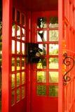 Oude klassieke wijzerplaattelefoon Royalty-vrije Stock Foto