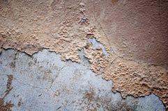 Oude kleur het schilderen schil weg Royalty-vrije Stock Fotografie