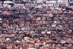 Oude kleurrijke bakstenen muur stock afbeeldingen