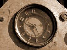 Oude klok stock afbeeldingen