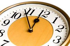 Oude klok Royalty-vrije Stock Afbeeldingen