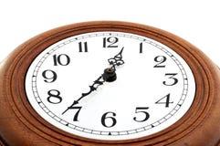 Oude klok. Royalty-vrije Stock Afbeeldingen