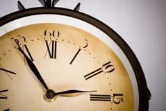 Oude klok Royalty-vrije Stock Fotografie