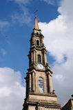 Oude klok in greenock Royalty-vrije Stock Afbeelding