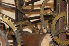 Oude klokmachine Royalty-vrije Stock Afbeelding