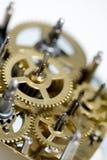 Oude klokmachine Royalty-vrije Stock Foto's
