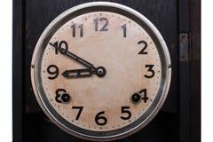Oude klokwijnoogst Stock Foto's