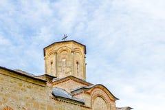 Oude kloostertoren Stock Foto