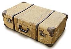 Oude koffer royalty-vrije stock afbeeldingen