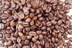 Oude koffieboon Stock Afbeeldingen