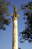 Oude kolom Royalty-vrije Stock Foto's