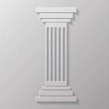 Oude kolom royalty-vrije illustratie