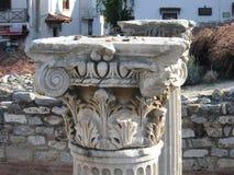 Oude kolom stock afbeeldingen