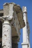Oude kolom in Philippi Royalty-vrije Stock Afbeelding
