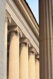 Oude kolommen Royalty-vrije Stock Foto