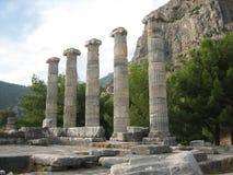 Oude kolommen Royalty-vrije Stock Afbeelding