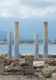 Oude kolommen. royalty-vrije stock foto's