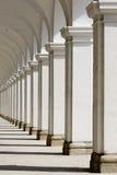 Oude kolommen Royalty-vrije Stock Foto's