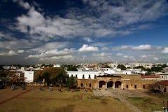 Oude koloniale stad Royalty-vrije Stock Fotografie