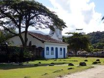 Oude koloniale stad van Paraty in Rio de Janeiro State stock afbeelding