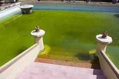Oude Koninklijke Pool, Yogyakarta, Indonesië Royalty-vrije Stock Afbeeldingen