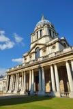 Oude Koninklijke ZeeUniversiteit, Greenwich, Londen, het UK Stock Afbeelding