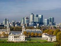 Oude Koninklijke Zeeuniversiteit in het Dorp van Greenwich, Londen Royalty-vrije Stock Afbeeldingen
