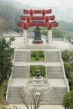 Oude koperklok van China Stock Fotografie
