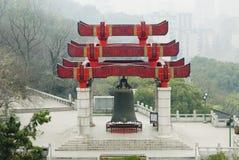 Oude koperklok van China Royalty-vrije Stock Foto