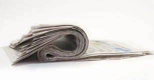 Oude kranten stock foto