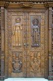 Oude kunst van Nepal Stock Foto